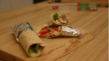 Ranch Soslu Hindili Wrap